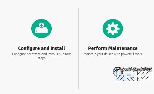 Configure And Install تنظیمات اولیه دیسکها و Perform Maintenance