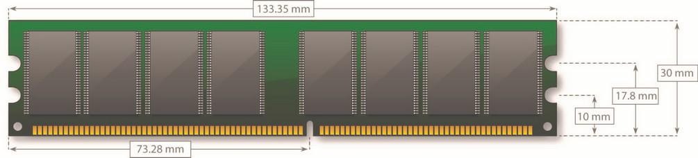 DDR DIMM - 184 pin