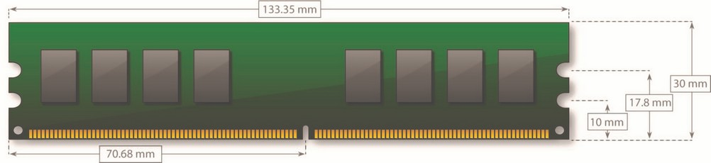 DDR2 DIMM - 240 pin