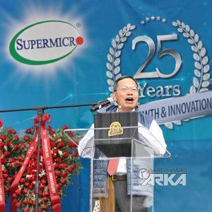 شرکت سوپرمایکرو 25 ساله شد