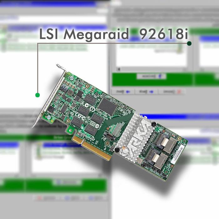 رید کردن هارد دیسک با استفاده از رید کنترلر LSI Megaraid 9261-8I