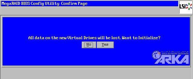 megaraid bios all data lost