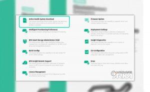 گزارش Active Health System Log
