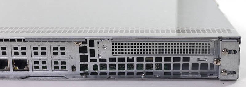 Supermicro SYS 5019C MR Expansion Slot