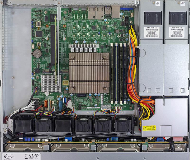 سرور یک یونیت سوپرمایکرو SYS-5019C-MR