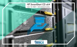 HP SmartStart CD x64 version 8.7 - B