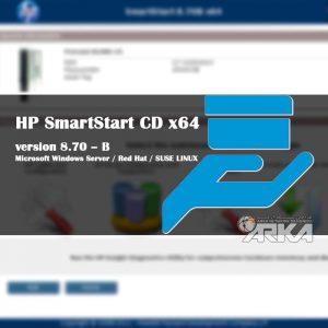 HP SmartStart CD x64 version 8.70 - B