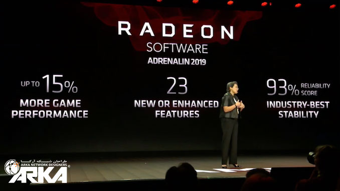 کارت گرافیک Radeon amd در نمایشگاه CES 2019