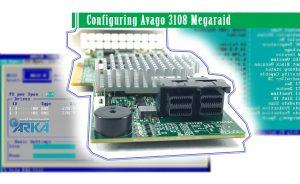پیکربندی و تنظیمات رید کنترلر Avago 3108 SAS